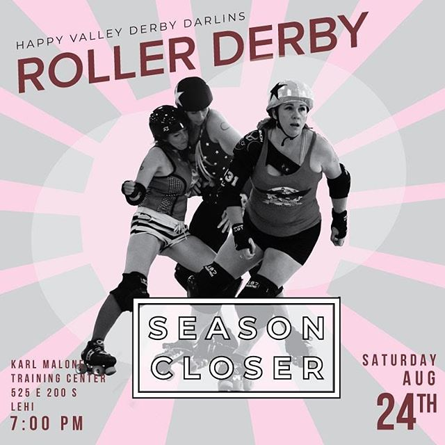 SAVE THE DATE! Our season is coming to an end SOON and NOW is your chance to plan to see some hard-hitting derby action!