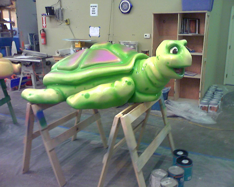 Janessa worked as a contract employee sculptor for JMC themed environments in Tulsa OK in 2008.