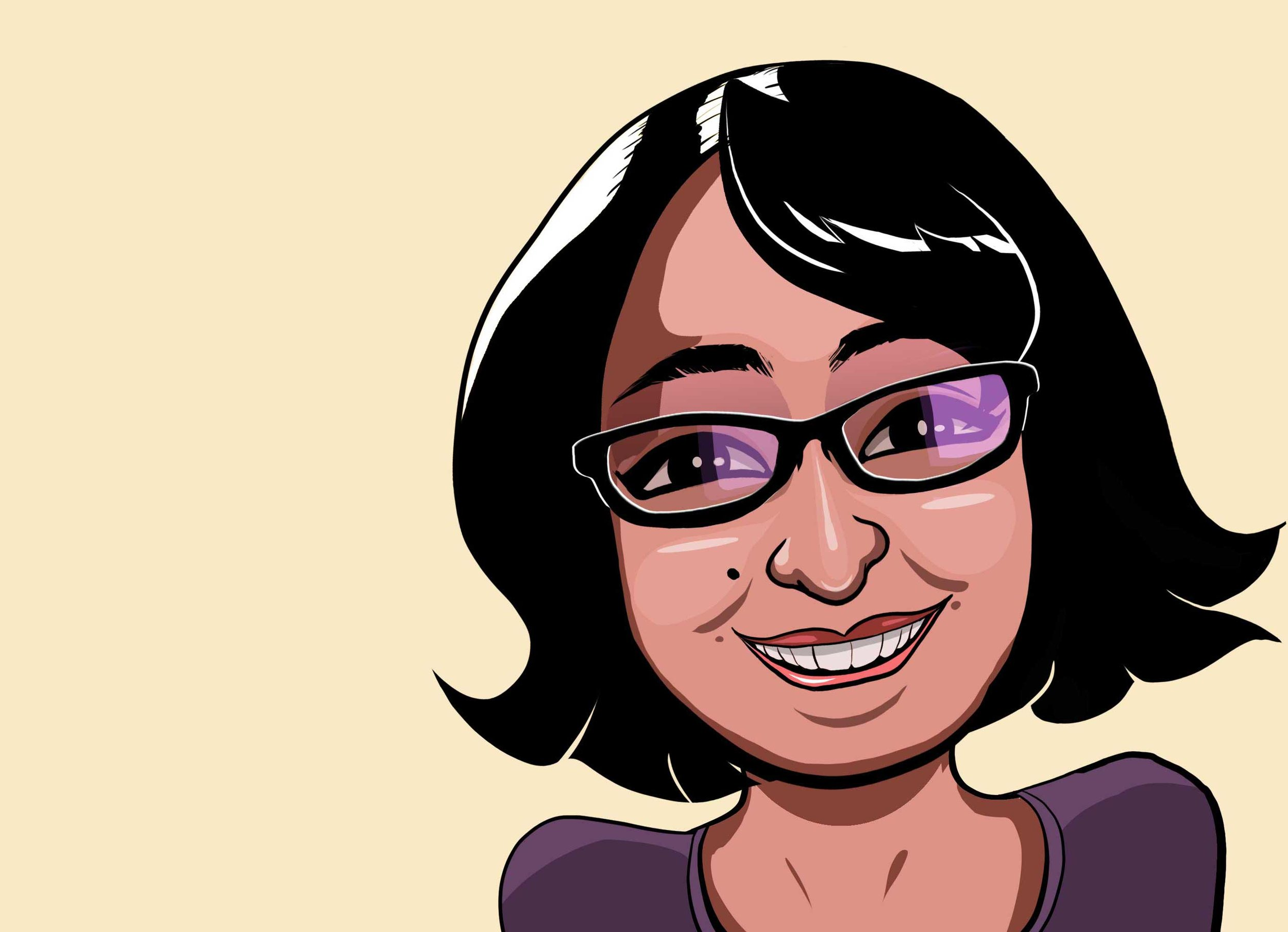 Pleased to meet you. - Sadi is an avid cartoon follower and lover of all things animation. Her skill set includes illustration and animation, and she's a pretty good editor too. Contact her to see what she can do for you!