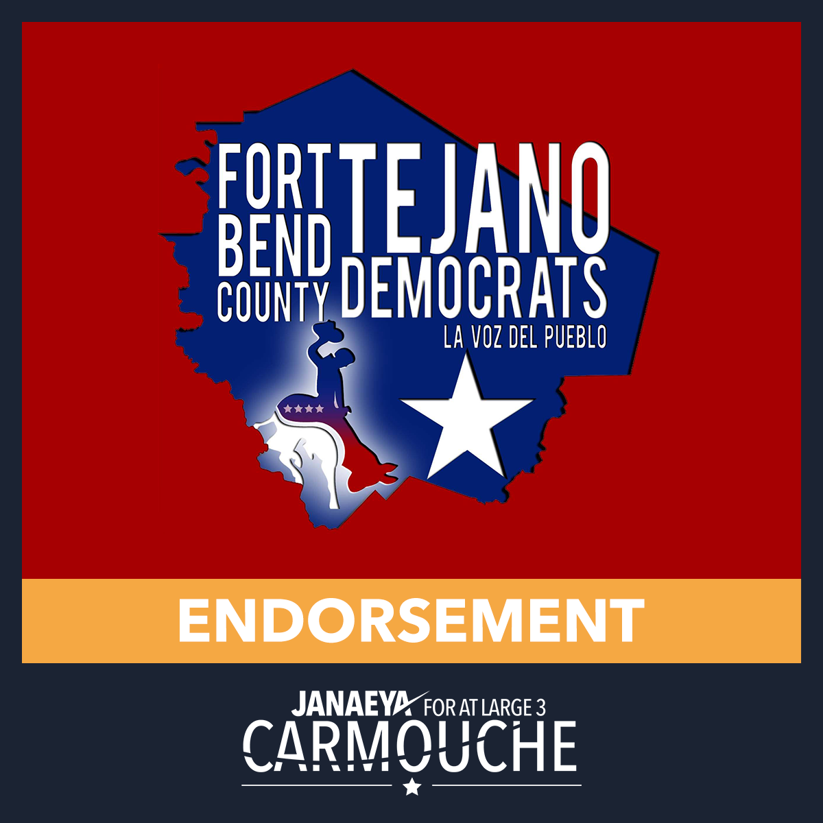JC Endorsement Seal Fort Bend County Tejano Democrats.png