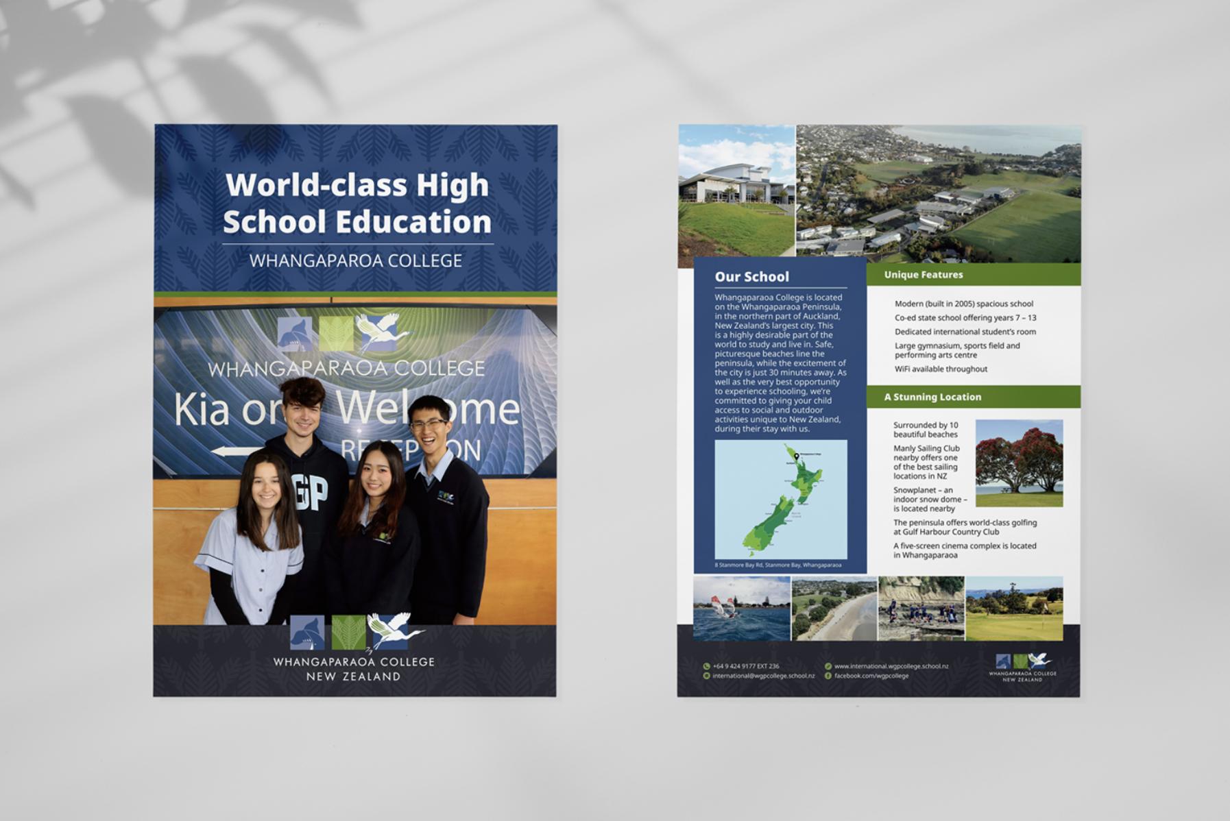 Whangaparoa College Flyer