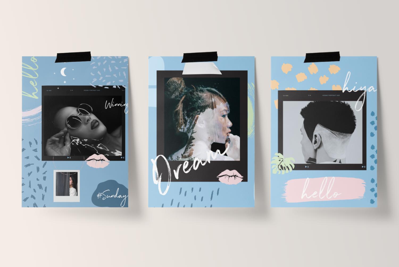 Collage kit simplywhytedesign
