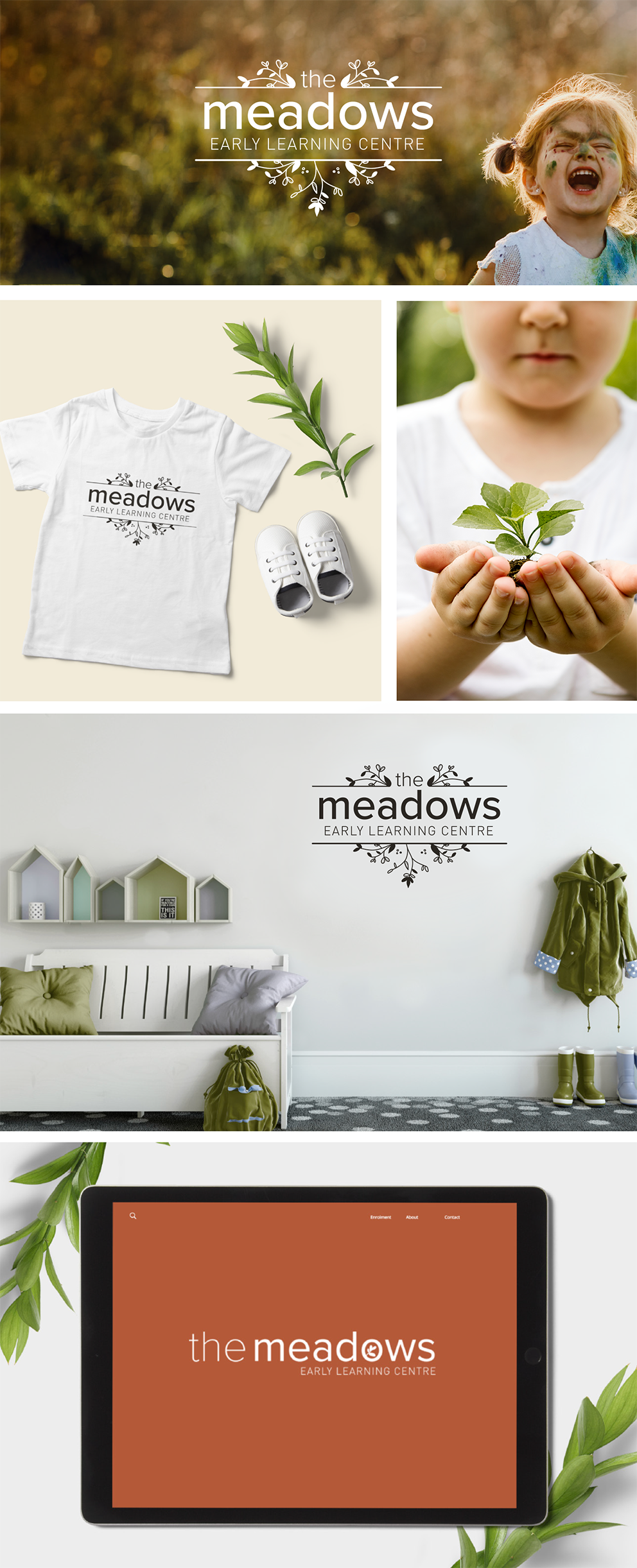 The Meadows logo and branding design Simply Whyte Design.png
