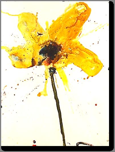 "Stem 27 - 2010 - Acrylic on Paper - 22"" x 28"""