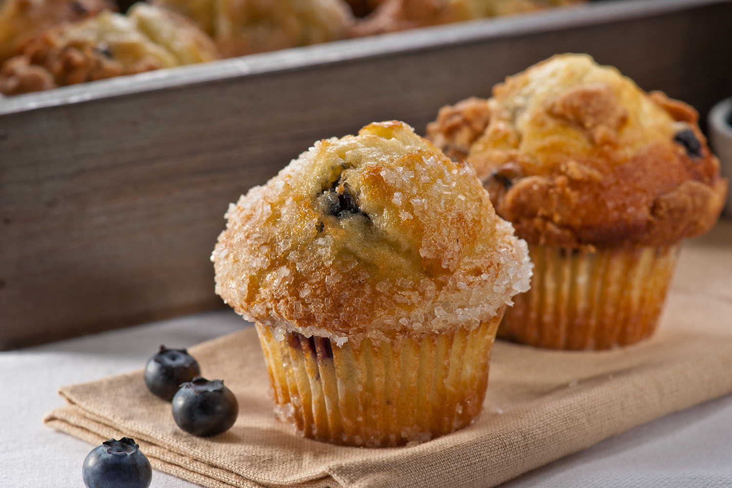 Blueberry Experience - Experience the sweet taste of fresh blueberries crammed into every bite of this old-fashioned favorite. This yummy treat will always keep your patrons returning for more.