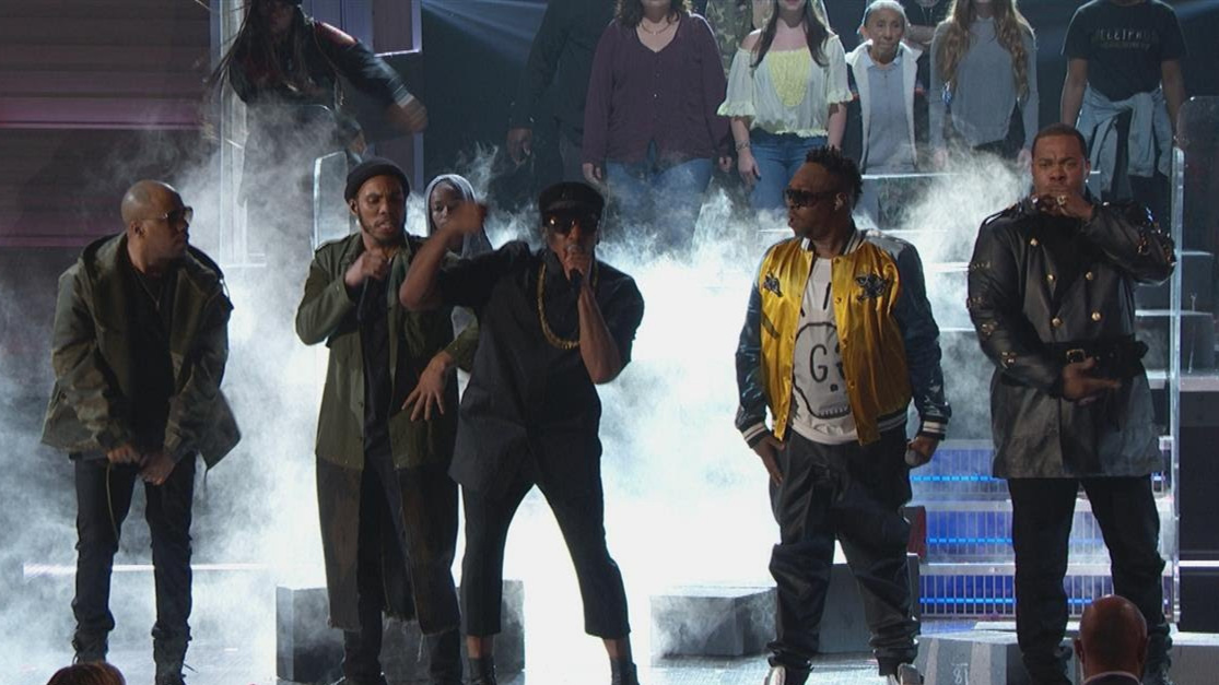 A Tribe Called Quest's Grammy performance