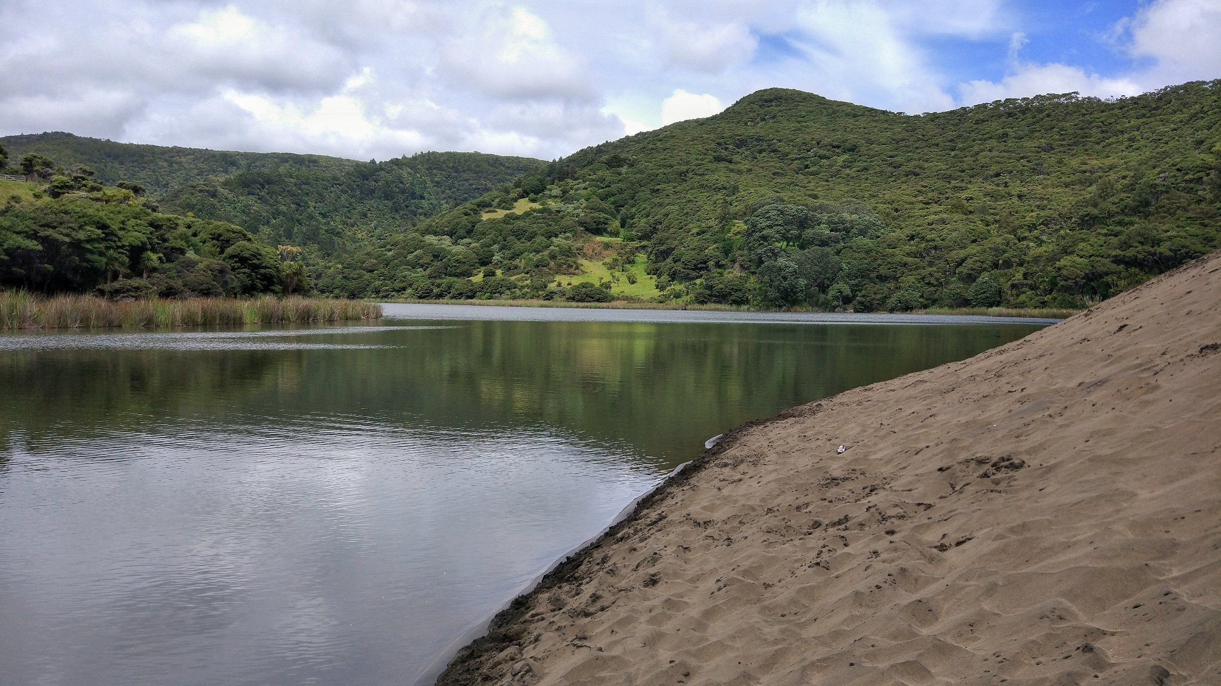 Lake wainamu: nature pure!