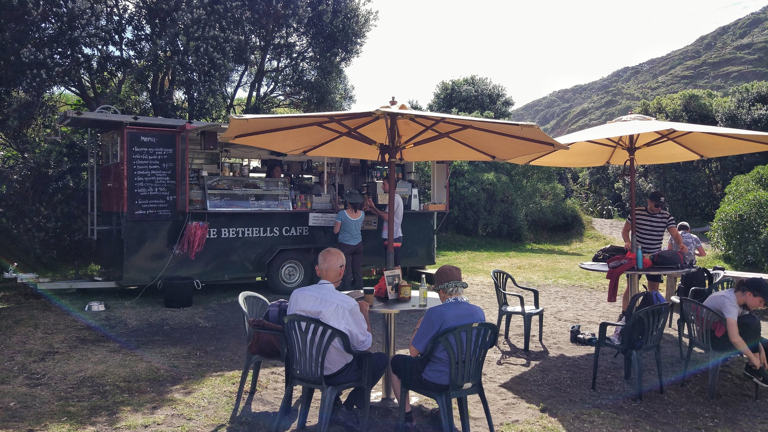 awesome coffee and cakes at bethells cafe