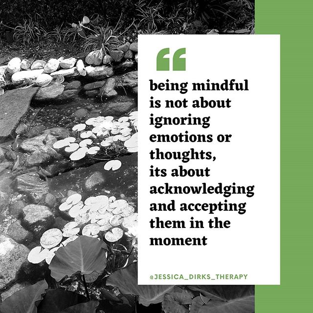 ■▪︎ Mindful Monday ▪︎■ Happy Monday! Just a reminder to be kind to yourself as you continue to practice mindfulness. It's a skill that needs work, but is worth the pay out.  Mindfulness means being non-judgmental of all your thoughts and emotions as they come, honoring their presence and moving on.  #mindfulness #mentalhealth #mentalhealthawareness #dbt #cbt #privatepractice #beingpresent #selflove #wellnesswarrior #depression #anxiety #dbt #cbt #suicide #suicideprevention #anxiety #bpd