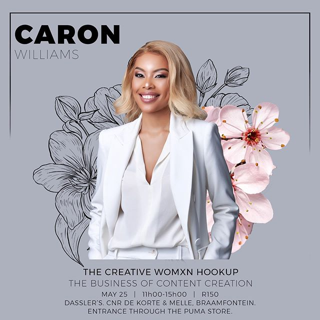 We're super excited to introduce @caron_williams , founder of @thethronemag , a digital media company and a boutique agency as our next panelist.  Having served at esteemed agencies such as FCB, Ogilvy & Mather and Celebrity Services Africa, Caron has honed an intrinsic understanding of building brands, South Africa's social media and digital landscape, and how the consumption of content continues to evolve.  Under her leadership, The Throne has worked on campaigns with some of the biggest brands in the country, including @castlelitesa , @adidasza , @brutalfruitza , @cando_za , @budweiserza and more.  She has also recently been accepted into Investec 's 2019 global entrepreneurship programme - En-novate.  With just over 2 weeks to go till #TheCreativeWomxnHookup and space limited to only 50 ladies, we hope you ladies got your tickets! 🥂  See you there!