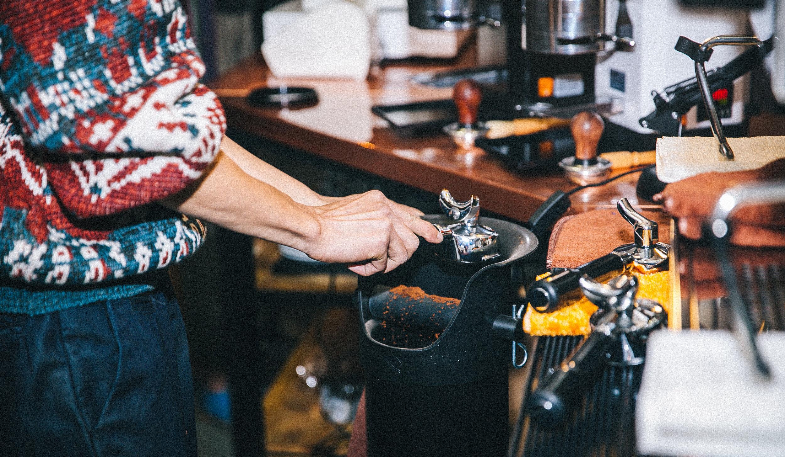 火星手咖啡 咖啡制作