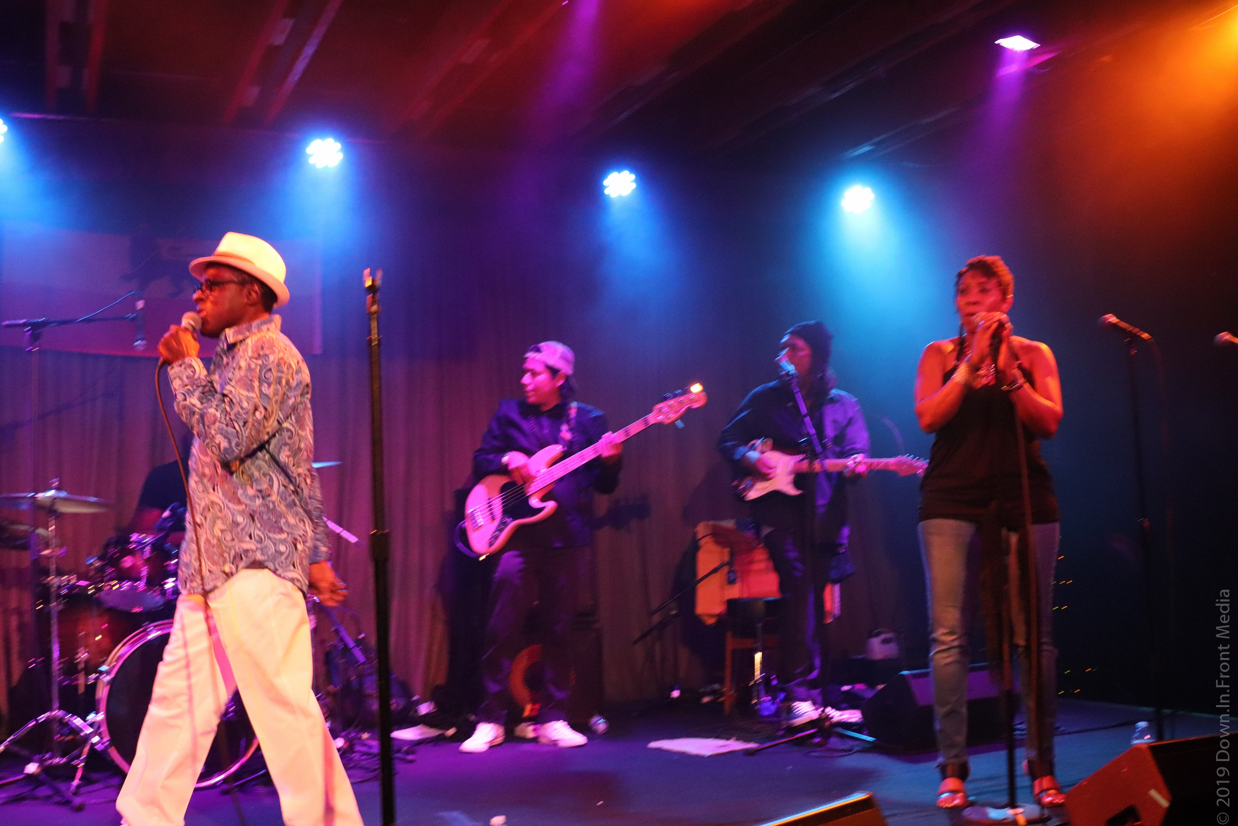 Island Riddim- David Allison and Djahnawith The Mighty 602 Band - 2019-06-29 at The Crescent Ballroom