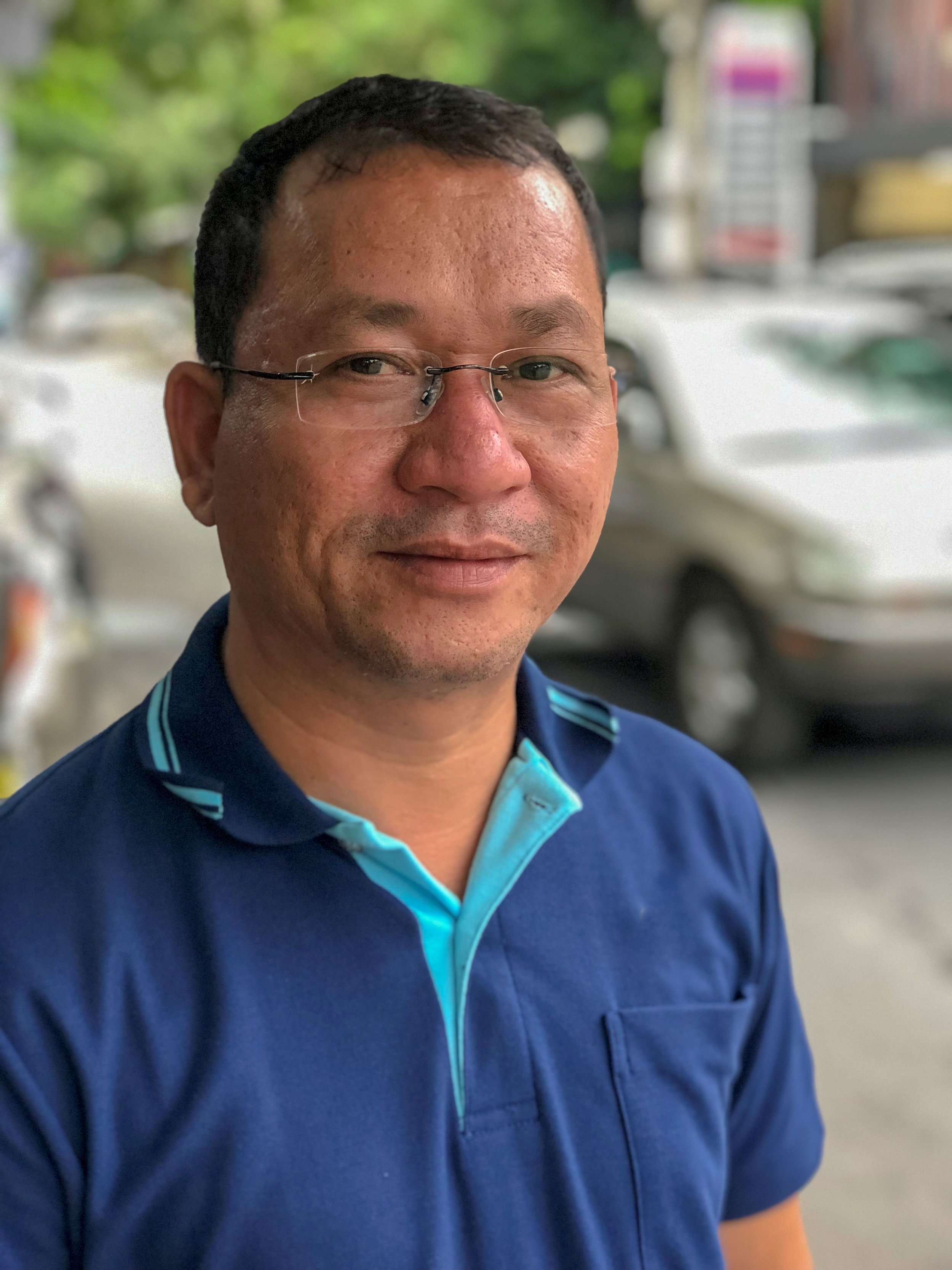 Mr. Nheak Samneang Reachsey,  Chairman of The Lake Clinic-Cambodia