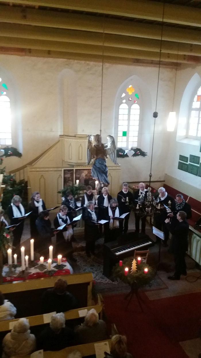 Weihnachtskonzern in der Kirche