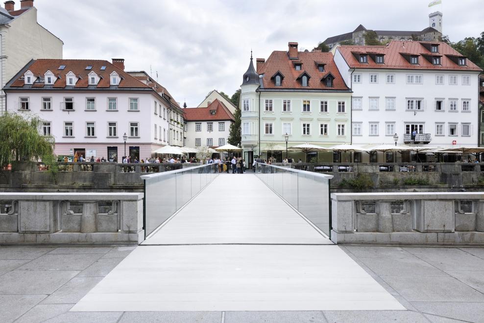 RIBJA BRV FOOTBRIDGE, Ljubljana (SI), Completed, 2014