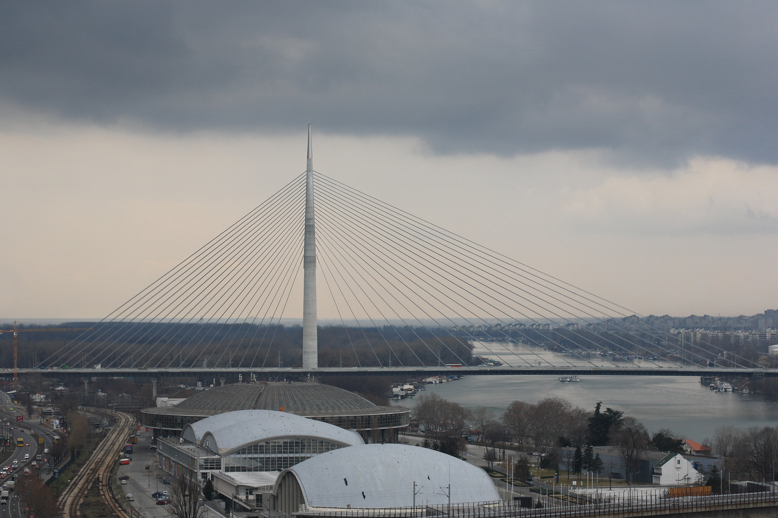 ADA BRIDGE, Belgrade (SRB), International competition, First prize, Completed, 2010