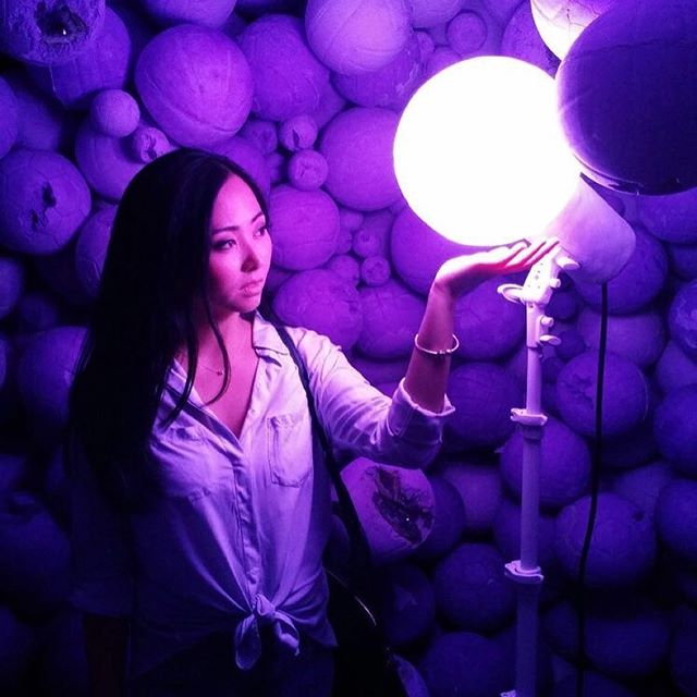 Posted @withrepost • @_naphan We can change the world to make it a better place. It is in your hands to make a difference - Nelson Mandela #quoteoftheday #nyc #danielarsham #artexhibition #purplecave #purple #violet #violetcolor #violetcolour #colourviolet