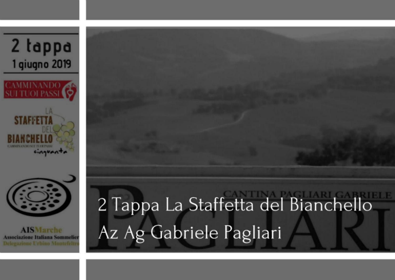 2 tappa la staffetta del bianchello azienda agricola Gabriele Pagliari bianchello del metauro il superiore Ais Marche Urbino Montefeltro