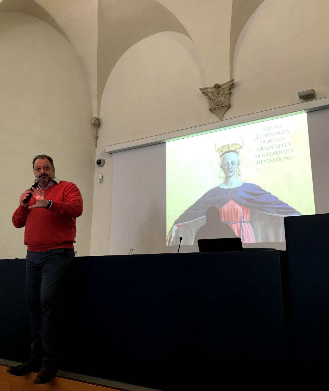 armando castano Piero della Francesca palazzo ducale di urbino in occasione della presentazione de la staffetta del bianchello e l'altra stafeftta bianchello del metauro