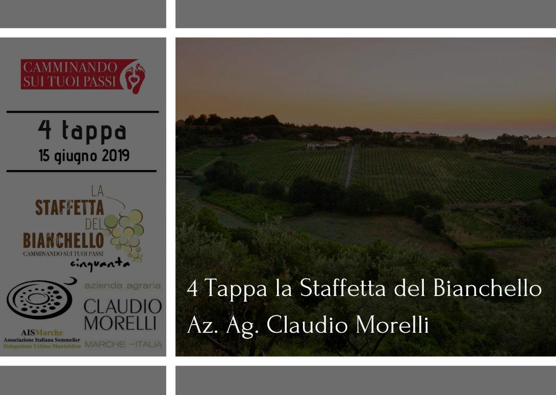 Claudio Morelli la staffetta del bianchello il bianchello del metauro tra terra e mare