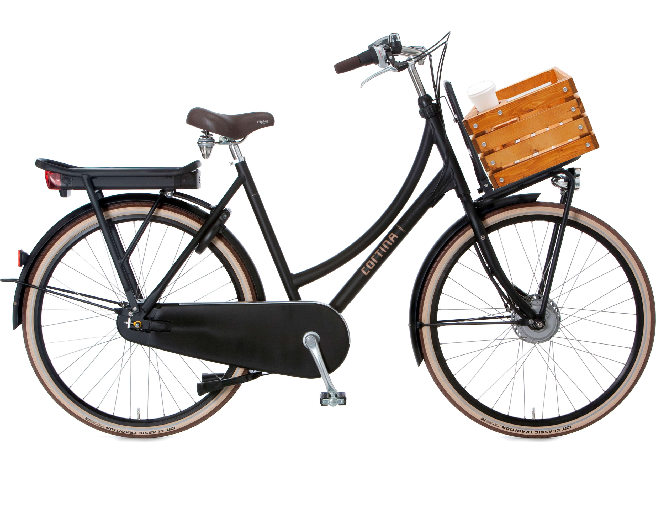 The stylish electric bicycle is not an unreachable dream anymore! - Experience the comfort of cycling without breaking a sweat!