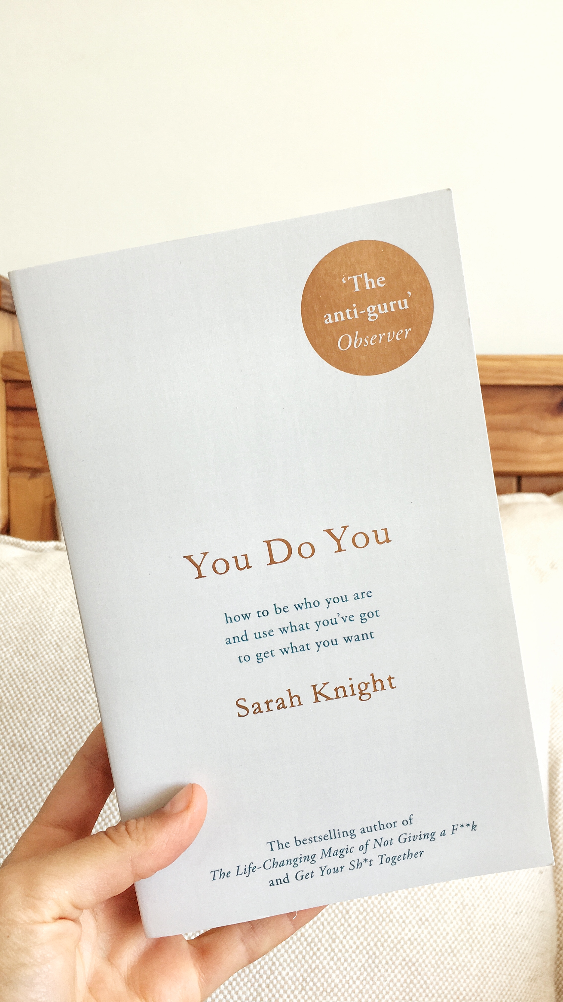 - Finished reading You Do You by Sarah Knight and it proved to be exactly what I needed to kick off 2019.