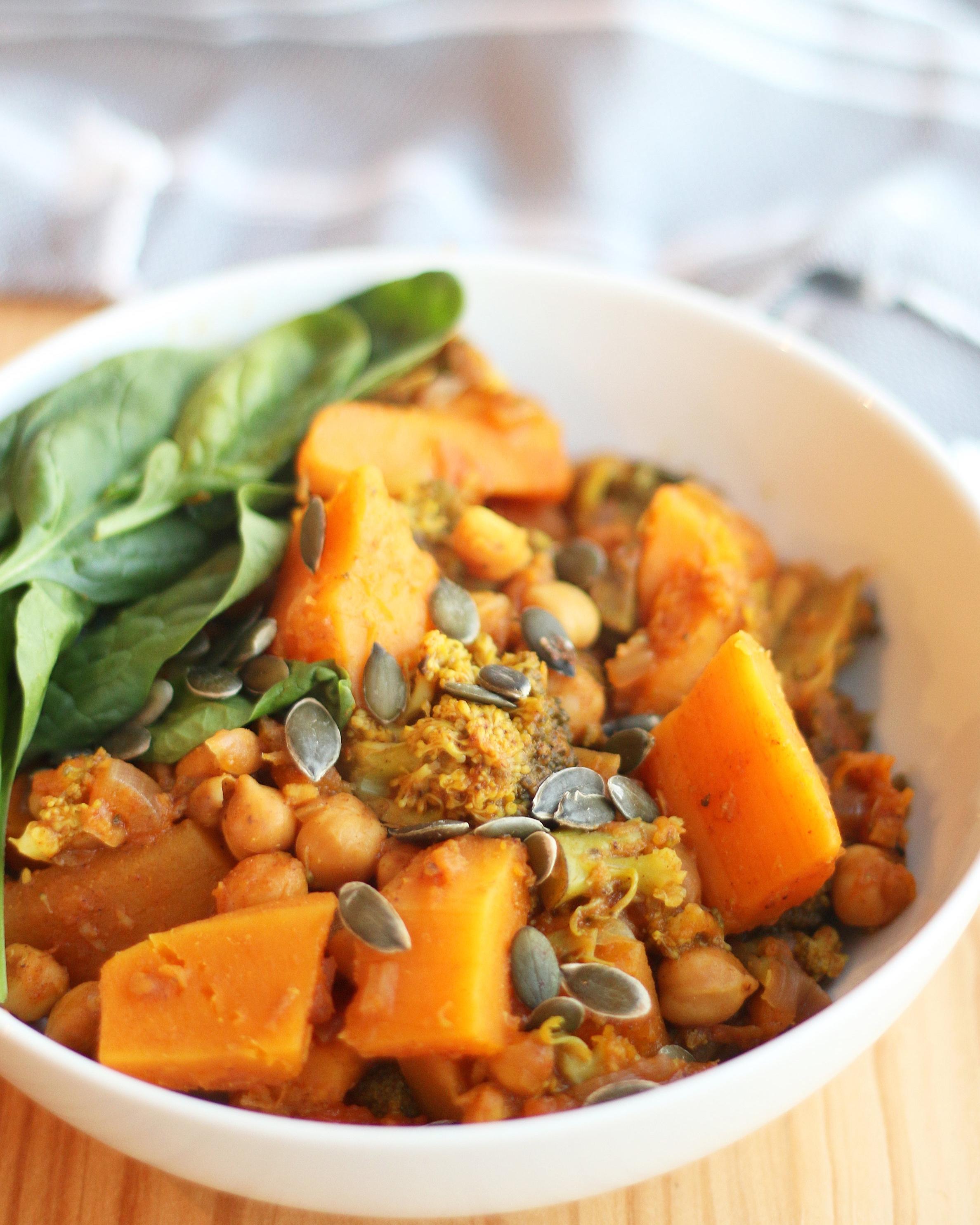 Instant Pot Veggie Stew -