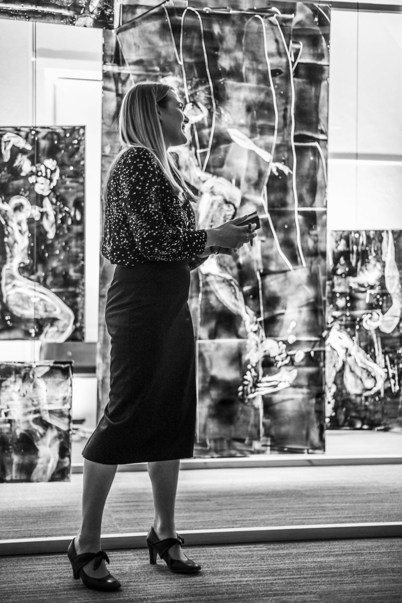 On Saturday 12th January 2019… - …I opened my first exhibition after completing an art foundation at Stroud College in June 2018.