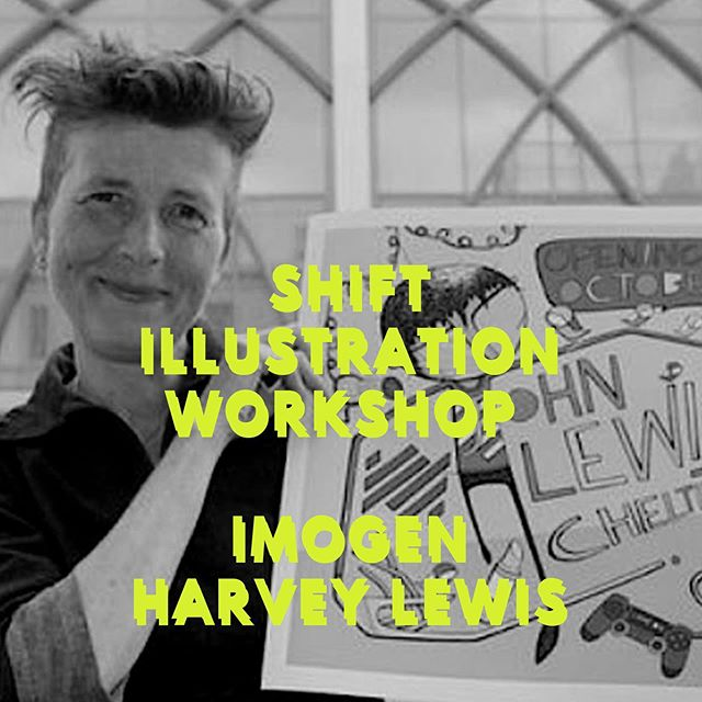 Imogen Harvey Lewis, @plimpsole_girl  renowned (working for John Lewis, Facts4Life and Royal Ballet) She is a very talented illustrator a total drawaholic. I'm delighted to be working with Imogen as part of the SHIFT program where she will be running workshops. 11am -1pm on Saturday 12th October 2019. Visit my website, link in BIO for more info. #artworkshops #shift #illustration #imogenharveylewis @soglos @prema_arts #artist #illustrator #freelancer #creative