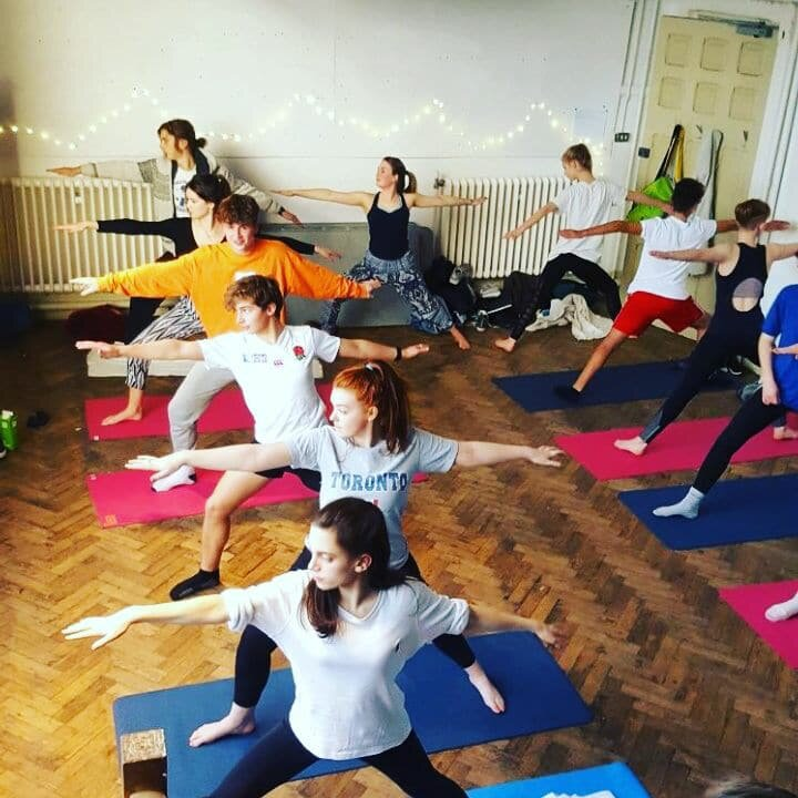 17:30 - 18:30 - Teen only creative movement class inspired by yoga with Robin Watkins - Davis.CLICK FOR MORE INFO & TICKETS >>