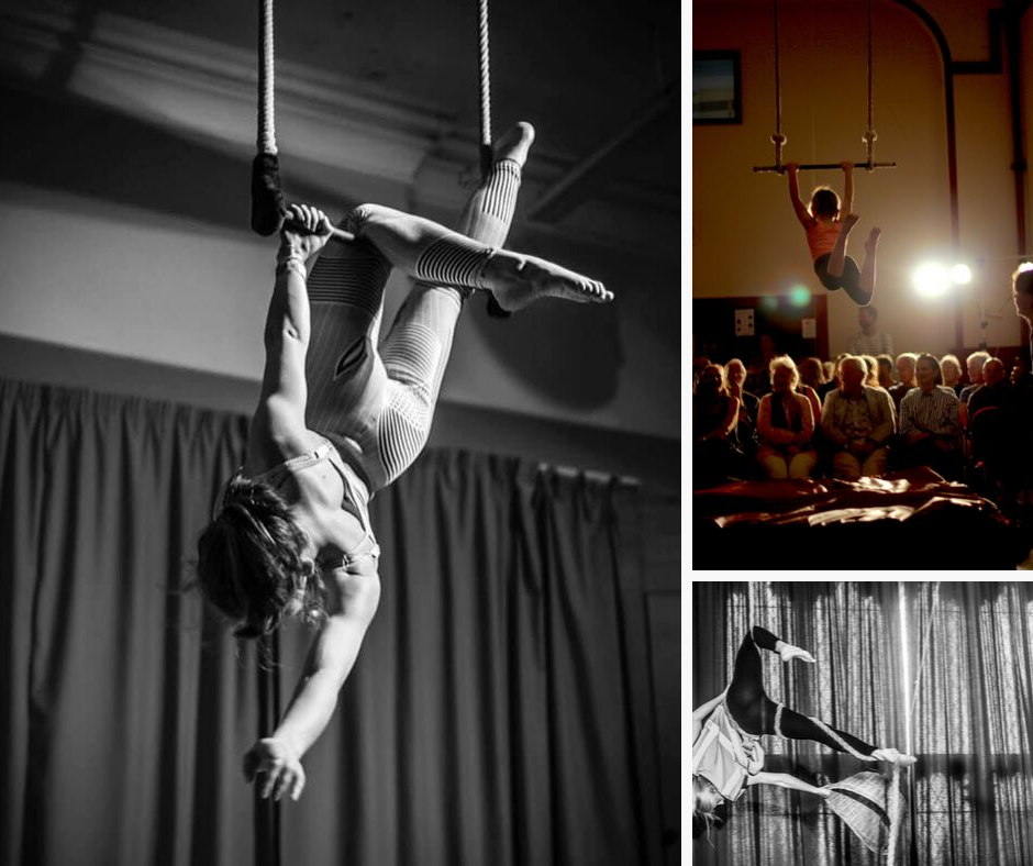 19:15 - 19:30 - Spectacular aerial performance and circus arts in front of SHIFT installation with students and professionals from the School of Larks.CLICK FOR MORE INFO & TICKETS >>
