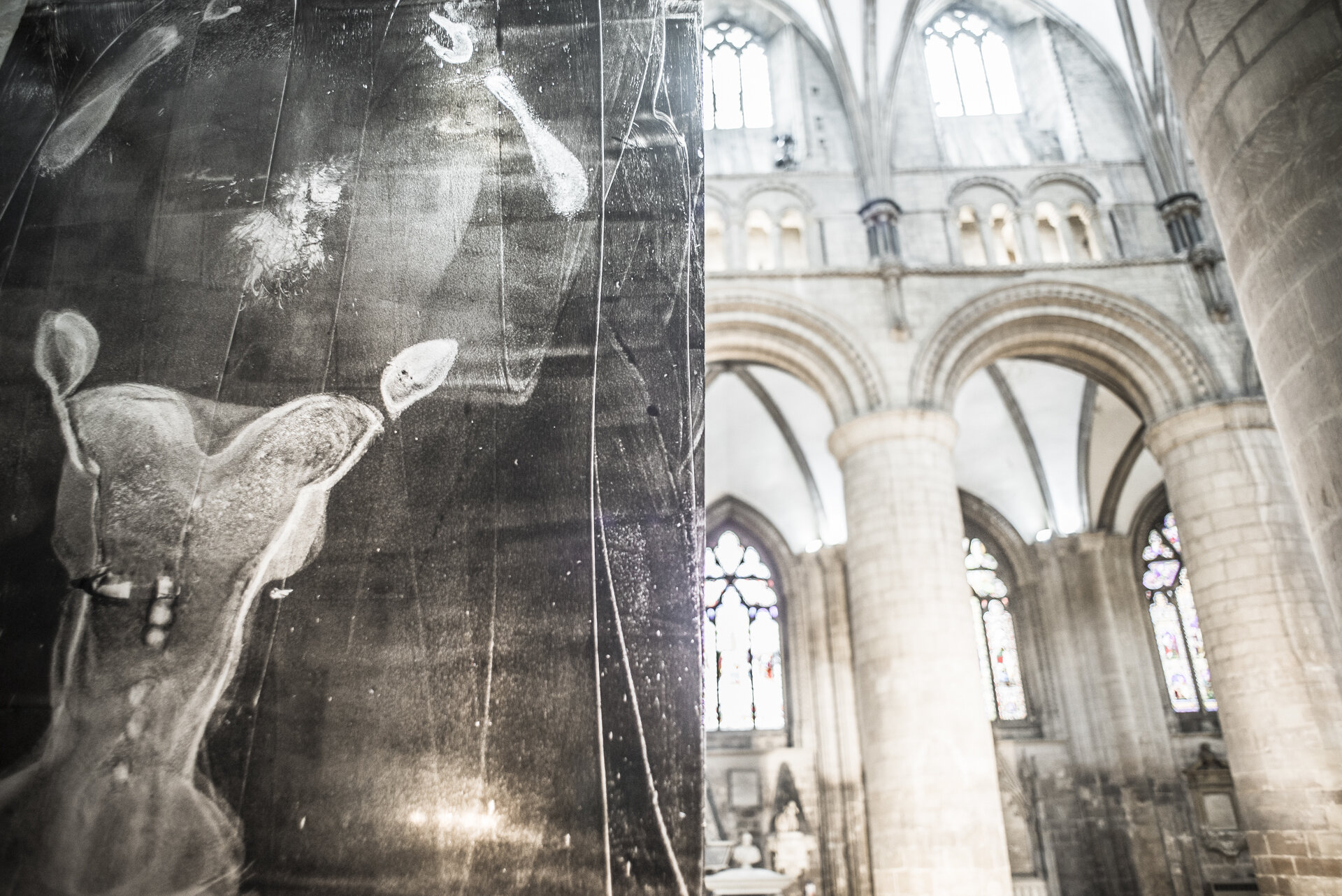 SHIFT ORIGINAL ARTWORKS - 'Shift' Installation (as exhibited at Gloucester Cathedral ) will be shown from 12-18th October 2019, open daily from 9:00 - 21:00.The installation will act as a backdrop & set the scene for outreach projects, participatory workshops based on the arts & well-being & high quality collaborative performances in music, dance & contemporary art.