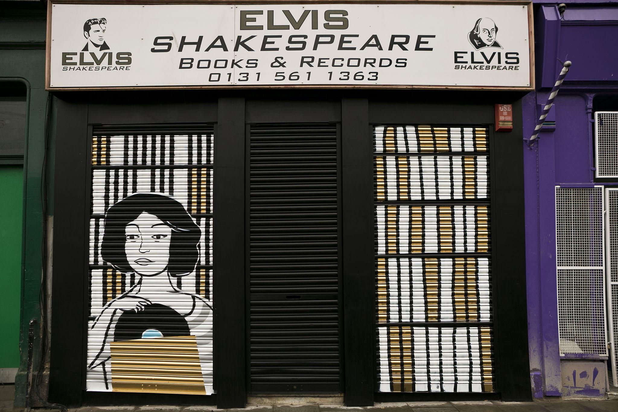 The Shutter Project – Erin McGrath on Elvis Shakespeare