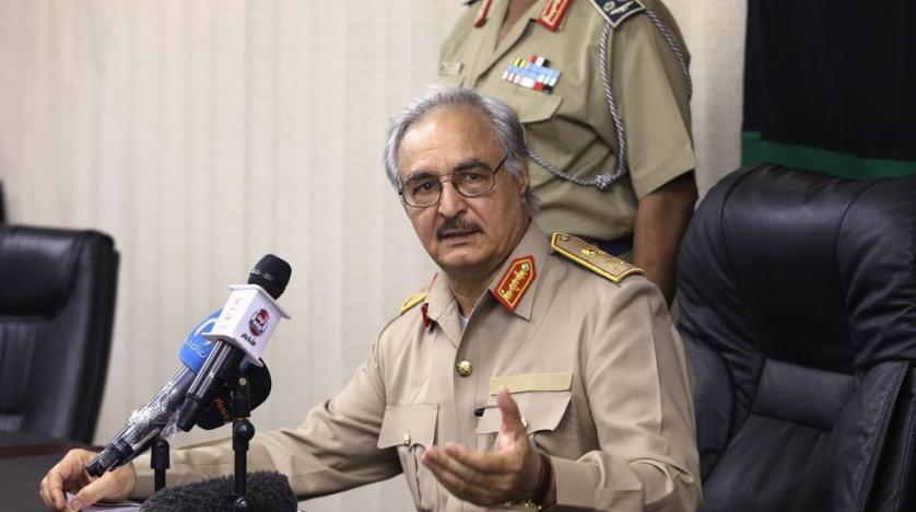 Field Marshal Khalifa Belqasim Haftar is a Libyan military officer and the head of the Libyan National Army, currently engaged in the Second Libyan Civil War.
