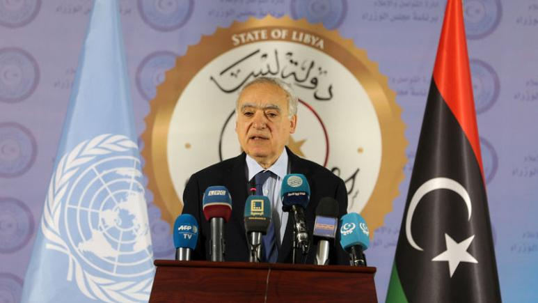 Above, Special Representative of the Secretary-General Ghassan Salamé. Salamé was appointed Head of the United Nations Support Mission in Libya on June 22nd, 2017.