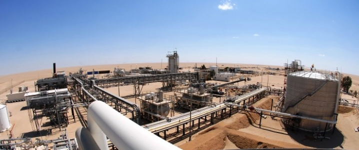 Above, a view shows pipelines and crude oil storage tanks at an oil refinery in Libya. May will be a crucial month for global oil prices. If America does not extend Iran waivers and Libya's conflict prolongs, we should brace ourselves for soaring oil prices.