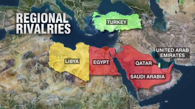 The Proxy War in Libya: Part 1, The Triad — Libya Desk | Evidence ...