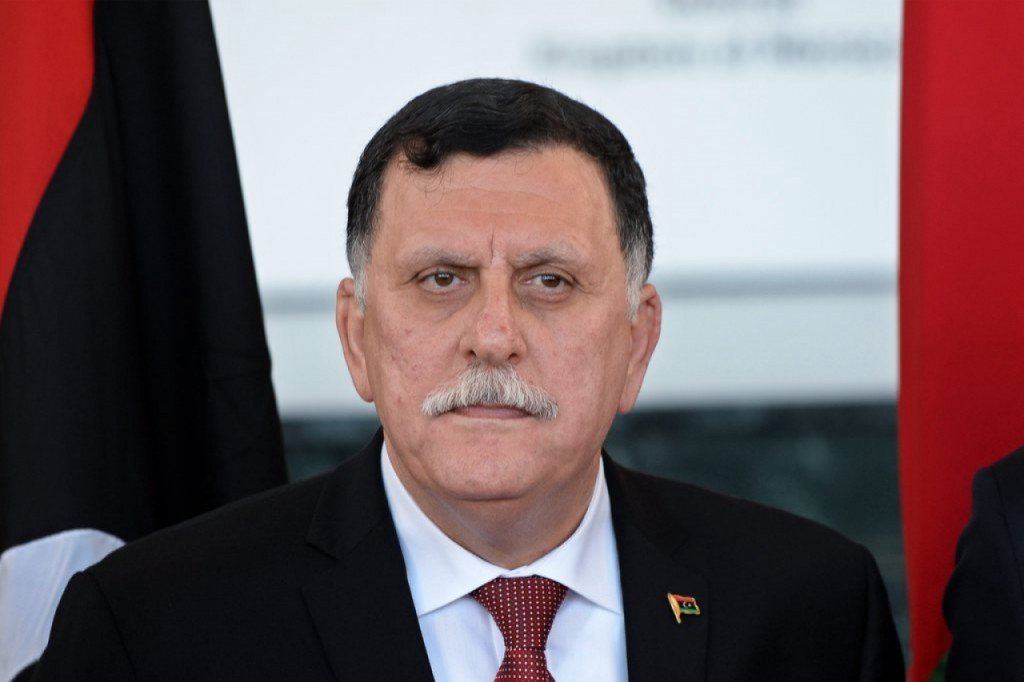 Fayez al-Sarraj, the Chairman of the Presidential Council of Libya and prime minister of the Tripoli-based Government of National Accord of Libya.