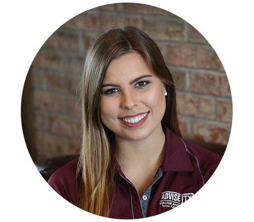 Jillian Mueller - School: S.P. Waltrip High School# of Seniors: 3571-on-1 Interactions: 94%Registered for SAT/ACT: 100%College Apps Submitted: 69%