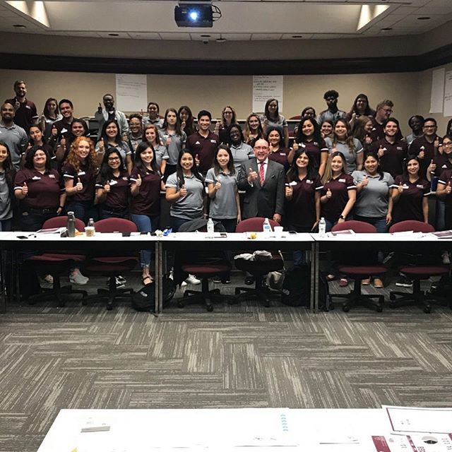 College advising training at Texas A&M University today! Getting ready for the 2019-2020 school year! ✨