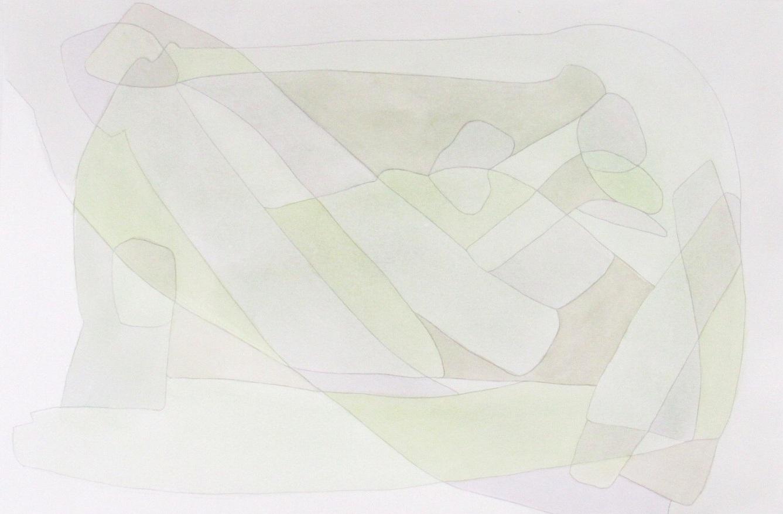 Pleasure 4 - 12x18 mixed media on paper