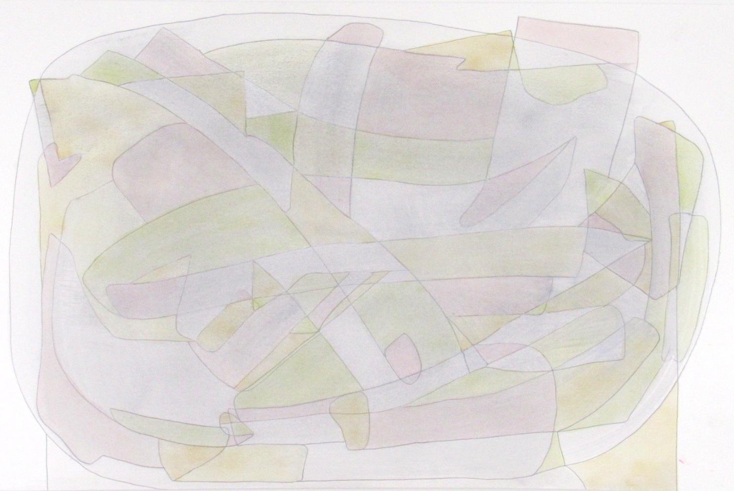 Pleasure 1 - 12x18 mixed media on paper