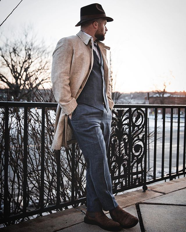 When you're decked out in @articlesofstyle it's easy to feel like a million bucks. This is their tropical wool suit (minus the jacket) and 100% silk mac from their first collection. #mensfashion #fashion #style #mensstyle #mensfashionblogger #mensfashiontips #mensfashionreview #fashionstyles #stylegram #mensstyleoftheday #dresstoimpress #menswear #dapper #mensstyleguide #mnswr #newenglandstyle #ruggedstyle #fashionblogger #ootd #wiwt #love #springfashion #youtuber #heritagestyle