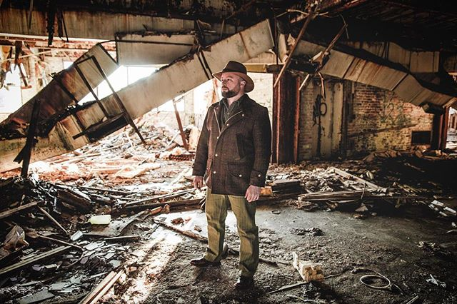 When we took this photo I was staring at a bookshelf with several repair manuals on it. It's incredible how some places are just abandoned and become a snapshot in time. There's something both sad and beautiful about it. #mensfashion #fashion #style #mensstyle #mensfashionblogger #mensfashiontips #mensfashionreview #fashionstyles #stylegram #mensstyleoftheday #dresstoimpress #menswear #dapper #mensstyleguide #mnswr #newenglandstyle #ruggedstyle #fashionblogger #ootd #wiwt #love #springfashion #youtuber #heritagestyle
