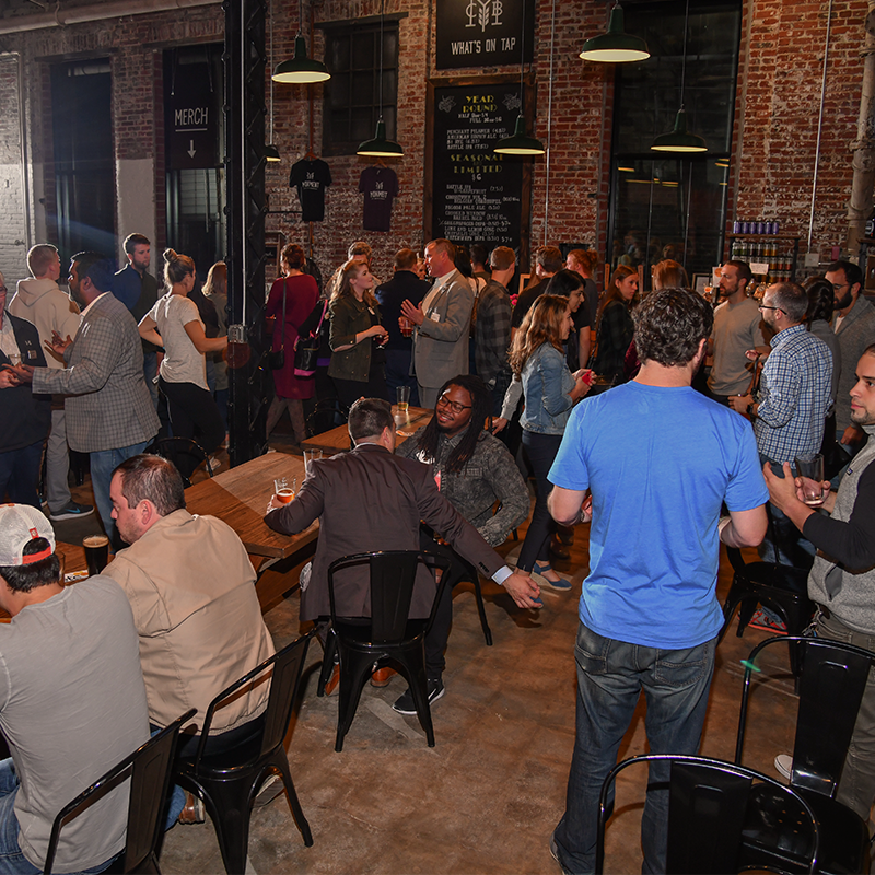Innovation Celebration 2018 at Monument City Brewing.