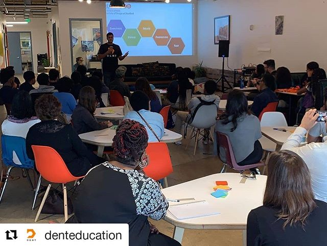 """#Repost @denteducation ・・・ We're so grateful for the 43 guests, especially 20 Poly students from @the_ingenuity_project , who came to """"Turn Creative Ideas into Rapid Prototypes"""", our Design Thinking Skill Share at @impacthub_baltimore during @baltimoreinnovationweek ! Interested in learning more about design thinking and how our students apply it? Reach out to our Dent team! #DesignThinking #baltimoreinnovationweek #BaltimoreCity"""