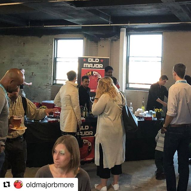#Repost @oldmajorbmore ・・・ Baltimore is full of so many visionary, creative and talented people! 💡🦀The OM team was honored to participate in today's @baltimoreinnovationweek happy hour along with fellow Pigtown business @culinaryarchitecture 🤗 The event was held right here in the neighborhood @1100wico 😃🐷Stay innovative Baltimore! #baltimoreinnovationweek #baltimorestartup #bestofbaltimore #Pigtown