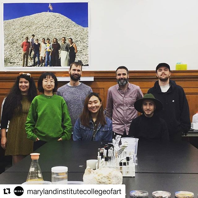 #Repost @marylandinstitutecollegeofart ・・・ It's #biw19 Creative & Media Day! @baltimorecreates and @mica_cd taking over and giving you a glimpse of the day's activities, starting with IS faculty, Ryan Hoover's biofabrication work! #biofabrication #artschool #mybmore #baltimoreinnovationweek #arttech