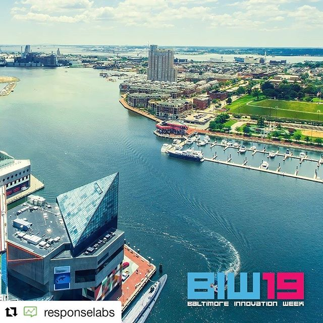 #Repost @responselabs ・・・ It is Baltimore Innovation Week! For the 8th year, thousands of business owners (including us!), marketers, salespeople, and more come together for a week of inspiration, education, and networking during #BIW19!  And don't miss out on our event this Thursday 10/10 at 1130am at the ETC — CRM & Loyalty Marketing Symposium! #bmoreCRM #bmoreLoyalty #makeeverymessagematter