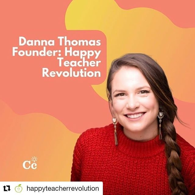 """#Repost @happyteacherrevolution ・・・ So excited to be part of @baltimoreinnovationweek today in partnership with @commoncurriculum to speak with fellow educators about turning my passion and purpose into my life's work. I am so grateful to lead the Happy Teacher Revolution movement as """"Danna"""" an """"edupreneur"""" , but this journey began as """"Miss Thomas"""" an early-childhood educator...and also a proud survivor and advocate for mental health awareness. Tonight I share the stage with three fellow teachers turned entrepreneurs who are leading social impact movements to help the education community. Join me tonight at 5:30 to hear more!"""